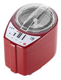 道場六三郎 家庭用 精米機「MICHIBA KITCHEN PRODUCT RICE CLEANER RC52」 匠味米 Red