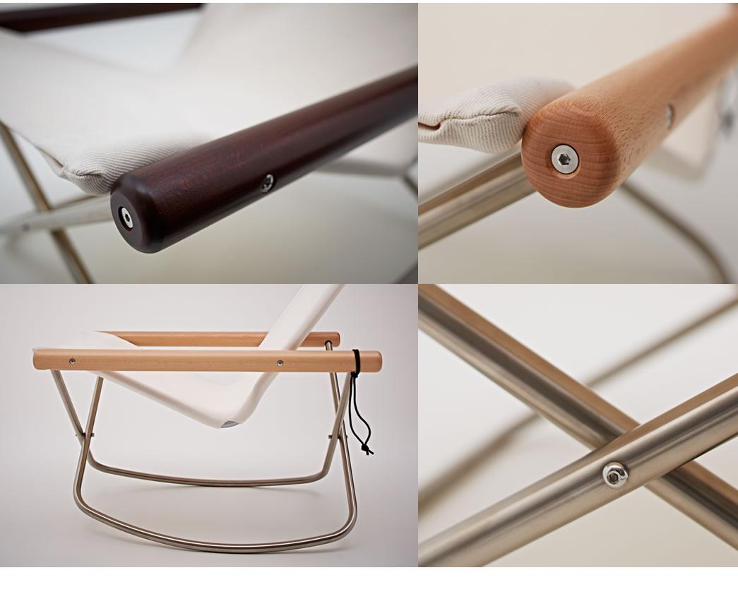 肘木やパイプの曲げ加工など、組み立てにおいても長年の実績と信頼のある創業1888(明治21)年の国内工場で生産されています。