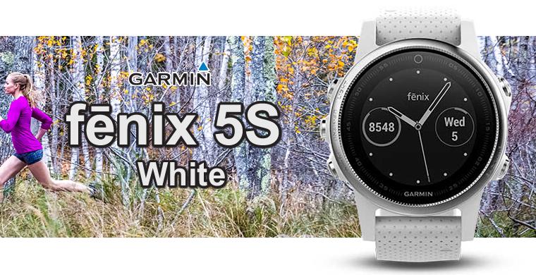 ガーミン fenix 5s White 168536-GARMIN フェニックスファイブ ホワイト アウトドアGPSウォッチ ウルトラトラックモード対応モデル