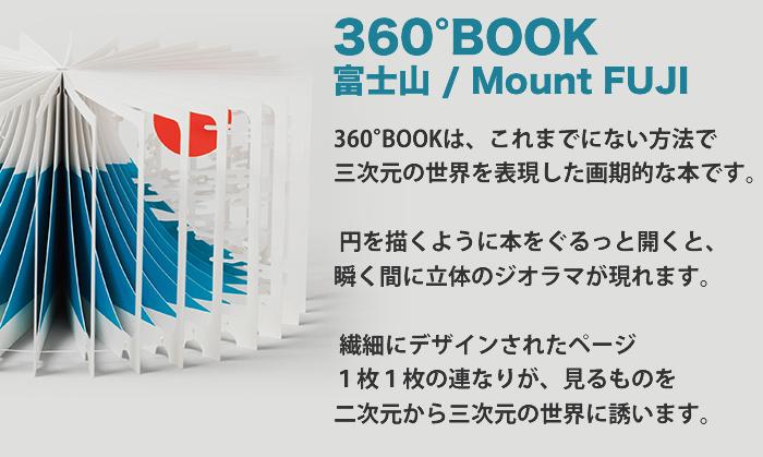 360°BOOK 富士山/Mount FUJI