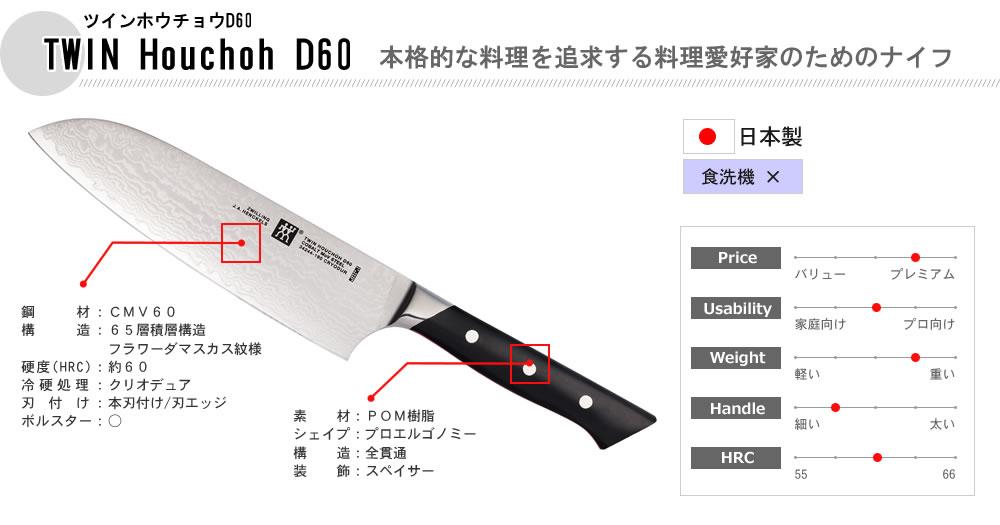TWIN Houchoh D60(�ĥ���ۥ����祦D60)�����<br>