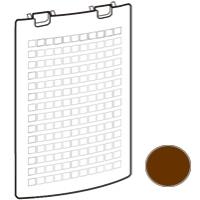 SHARP (シャープ) [280-158-0611]後ろパネル(ブラウン系)(280-158-0611)