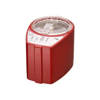 MB-RC23R 道場六三郎 家庭用 精米機「MICHIBA KITCHEN PRODUCT RICE CLEANER RC23」 匠味米 Modern Red