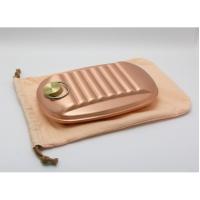 新光金属 [S-9395S]新光堂 湯たんぽ(純銅製・小・袋付)(S-9395S)