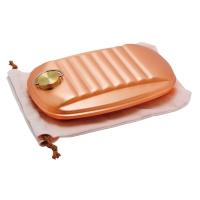 新光金属 [S-9395L]新光堂 湯たんぽ(純銅製・大・袋付)(S-9395L)
