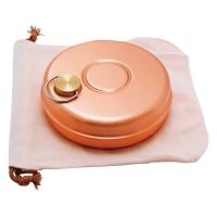新光金属 [S-9397]新光堂 ミニ湯たんぽ(純銅製・袋付)(S-9397)