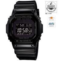 CASIO (カシオ) [GW-M5610BB-1JF]G-SHOCK Grossy Black Series MULTIBAND6 ソーラー電波時計(GW-M5610BB-1JF)