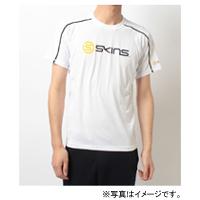 SKINS (スキンズ) 【在庫処分セール】 SKINS ショートスリーブシャツ メンズ M ホワイト SRS2501 WHT(4548499964961)