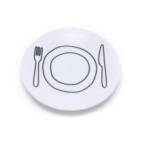アントレックス プレートプレート/PLATE-PLATE 17cm ホワイト(48613-190)