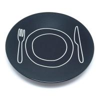 アントレックス プレートプレート/PLATE-PLATE 24.2cm ブラック(48616-190)