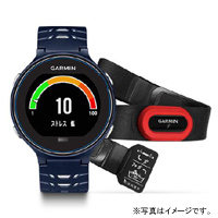 GARMIN (ガーミン) ForeAthlete 630J フォアアスリート630J HRM-Run セット Midnight Blue White(371795-GARMIN)
