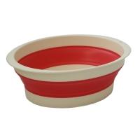 旭金属 [843-PK]メトレフランセ メナージュ バッシヌ ピンク 洗い桶 エラストマー素材(843-PK)