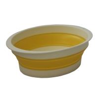 旭金属 [843-YL]メトレフランセ メナージュ バッシヌ イエロー 洗い桶 エラストマー素材(843-YL)