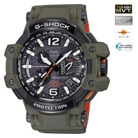 CASIO (������) [GPW-1000KH-3AJF]��10��ȯ���ǥ�� G-SHOCK MASTER OF G GRAVITYMASTER GPS HYBRID WAVE CEPTOR Master in OLIVE DRAB(GPW-1000KH-3AJF)