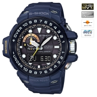 CASIO (カシオ) 【11月発売モデル】 G-SHOCK GULFMASTER MASTER OF G Master in NAVY BLUE MULTIBAND6 ソーラー電波時計(GWN-1000NV-2AJF)