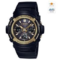CASIO (カシオ) 【11月発売モデル】 G-SHOCK Black Gold Series MULTIBAND6 ソーラー電波時計(AWG-M100SBG1AJF)