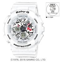 CASIO (カシオ) 【12月発売モデル】 Baby-G HALLO KITTY コラボレーションモデル(BA-120KT-7AJR)