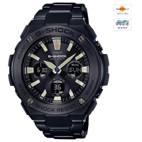 CASIO (カシオ) 【2月発売モデル】G-SHOCK G-STEEL MULTIBAND6 ソーラー電波時計(GST-W130BD-1AJF)