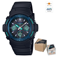 CASIO (カシオ) 【2月発売モデル】G-SHOCK FIRE PACKAGE 17 MULTIBAND6 ソーラー電波時計(AWG-M100SF-1BJR)