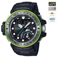 CASIO (カシオ) 【4月発売モデル】 G-SHOCK GULFMASTER MASTER OF G Master in MARINE BLUE MULTIBAND6 ソーラー電波時計(GWN-Q1000MB1AJF)
