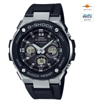 CASIO (カシオ) 【6月発売モデル】 G-SHOCK G-STEEL MULTIBAND6 ソーラー電波時計(GST-W300-1AJF)