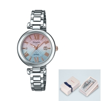 CASIO (カシオ) SHS-4502LTE7AJR SHEEN Solar Sapphire Model -Band Set-