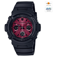 CASIO (カシオ) AWG-M100SAR1AJF G-SHOCK Black and Red Series MULTIBAND6 ソーラー電波時計