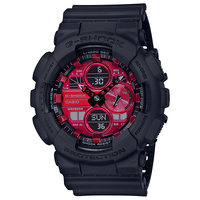 CASIO (カシオ) GA-140AR-1AJF G-SHOCK Black and Red Series