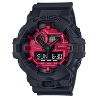 CASIO (カシオ) GA-700AR-1AJF G-SHOCK Black and Red Series